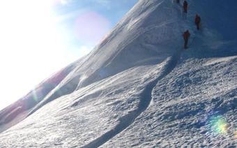 Mont Blanc - autostopem
