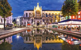 Weekend w Brukseli: kościół św. Katarzyny