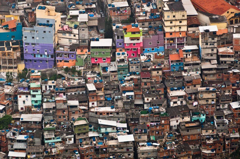 Brazylia, fawele