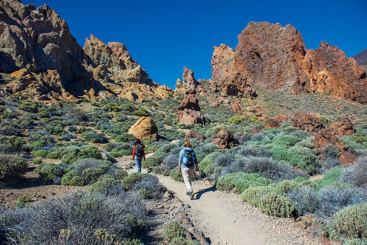 Roques de Garcia w Parku Narodowym Teide na Teneryfie